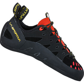La Sportiva Tarantulace Chaussons d'escalade Homme, black/poppy